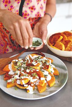 Butternut Squash with Coconut Sauce