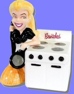 Bewitched salt pepper shakers
