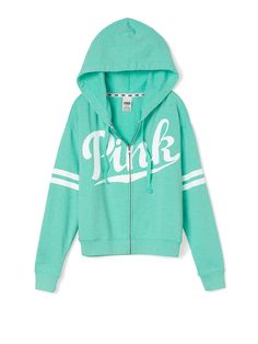 Full-Zip Hoodie - PINK - Victoria's Secret  in love with all of their hoodies..BUT THIS ONE IS SO CUTE.