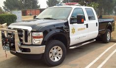 Ford SuperDuty Police Truck