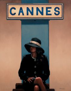 Jack Vettriano Exit Eden oil painting for sale