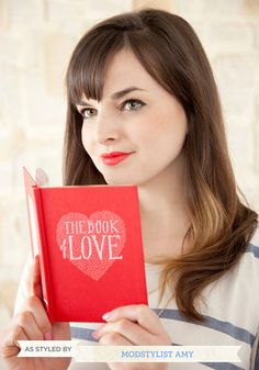 WEDDING GIFT  The Book of Love, #ModCloth