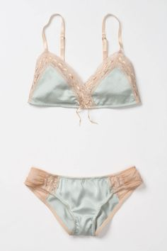 Corinne Lingerie set by Anthropologie