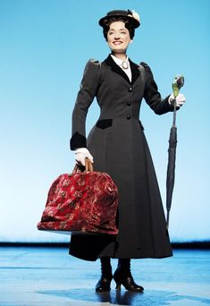 I want to make this coat SO BADLY!    Mary Poppins - Show Photos - Laura Michelle Kelly