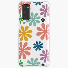 Samsung Cases, Samsung Galaxy, Weird Holidays, Galaxy Design, Fashion Room, Meaningful Gifts, Daisies, Protective Cases, Vintage Designs