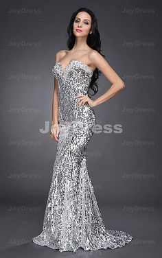 Silver Mermaid Floor length Sweetheart Evening Dress/Prom Dress 2013 New Arrival-in Evening Dresses from Apparel & Accessories on Aliexpress. Prom Dress 2013, Prom Dresses Uk, Prom Dress Stores, Dresses 2013, Beautiful Prom Dresses, Party Wear Dresses, Cute Dresses, Strapless Dress Formal, Cheap Long Dresses