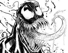 Digital Ink, Venom, New Work, Behance, Gallery, Check, Art, Art Background, Kunst