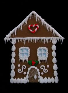 SALE 25% OFF! Classic Gingerbread House Ornament