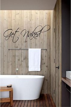 Get Naked  Vinyl Wall Art Decal for the Home by TheVinylCompany, $25.00