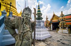 Emerald Buddha Temple by BartPhotography
