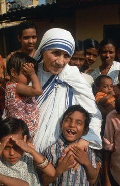 Mother Teresa in Calcutta