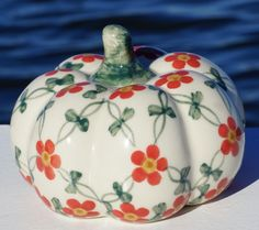 Polish Pottery Pumpkin Factory ANdy