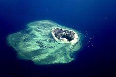 Island near Makassar, Indonesia