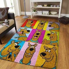 Scooby Doo Quotes, Scooby Doo Images, Scooby Doo Kids, Scooby Doo Movie, Room Rugs, Area Rugs, Scooby Doo Mystery Incorporated, Print Your Photos, Rectangle Area