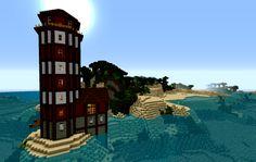 minecraft lighthouse   Tumblr