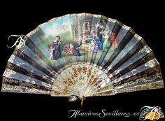 Hand Held Fan, Hand Fan, Fans, Home Appliances, Hand Fans, Wood, Spain, House Appliances, Appliances