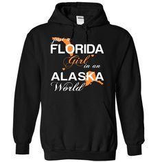 Just A Florida Girl In A Alaska World T-Shirts, Hoodies. GET IT ==► https://www.sunfrog.com/Valentines/-28FLJustCam002-29-Just-A-Florida-Girl-In-A-Alaska-World-Black-Hoodie.html?id=41382