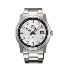 Orient Men white Dial Silver Metal Strap Round Shape SER23004W0 online india