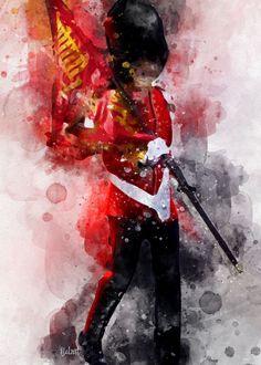 The Queens Guard - Nancy Calvert - Canvas Artwork Queens Guard, Royal Guard, Prince Philip, Canvas Prints, Fine Art, Fun Stuff, United Kingdom, Artist, Industrial