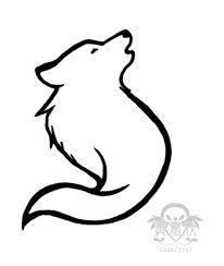 """Résultat de recherche d'images pour """"minimalist wolf tattoo"""""""