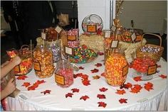 Fall Candy Buffet