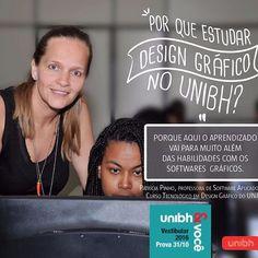 VESTIBULAR DESIGN GRÁFICO UNIBH  Inscrições abertas para o vestibular http://vestibular.unibh.br/#design-de-grafico  Contato coordenação: cynthia.enoque@unibh.br  Quem curte essa aula, COMPARTILHA.  #VemProUNIBH  Foto: Rafael Viana