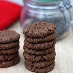 G-Free Almond Butter Espresso Cookie Recipe! Healthy Dessert Recipes, Raw Food Recipes, Cookie Recipes, Delicious Desserts, Yummy Food, Free Recipes, Healthier Desserts, Healthy Meals, Yummy Treats