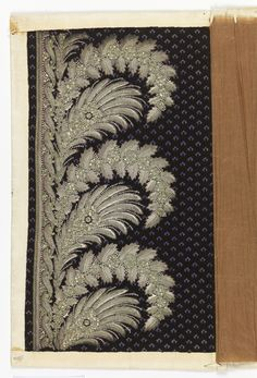 Embroidery Sample (France), ca. 1770