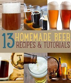 How To Make Beer At Home | Best Beer and Homebrew Recipes #diyready www.diyready.com