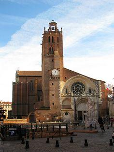 Cathédrale St-Étienne ---- Toulouse, France