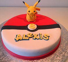 Pikachu cake truffles from ka Diy Birthday Decorations, Birthday Cake Decorating, Pokemon Torte, Mini Cakes, Cupcake Cakes, Cupcakes Lindos, Pokemon Birthday Cake, 32 Birthday, Decors Pate A Sucre