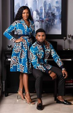 Classic style gets a cultural update in this L'AVIYE African print men's shirt. Cut in a skinny fit to define your frame, this African shirt creates a sharp outline around your silhouette. African Fashion Ankara, Latest African Fashion Dresses, African Print Fashion, African Style, Africa Fashion, African Prints, African Fabric, Couples African Outfits, African Attire