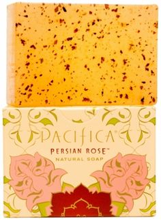 Great for Dry Sensitive Skin - Pacifica Persian Rose Natural Soap is also a Gluten Free Natural Vegan Soap Bar. Pacifica's blend of Bulgarian rose, subtle violet, myrrh & delicate fruit is a nod to the floral empire of the Persians, the kings of perfume in the 9th century. Spiritual, elegant & classic. #Rose #Pacifica #SensitiveSkin #Eczema #DrySkin #SoapBar #Soap #Vegan #Natural #Organic