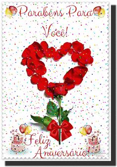 Birthday Cards, Happy Birthday, Congratulations, Romantic, Prints, Pasta, Gifs, Happy Birthday Hd, Happy Birthday Beautiful