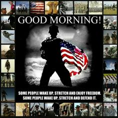 God bless our men and women defending our country and our beliefs..