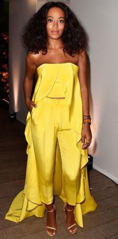 The Best Celebrity Fashion From 2014 Art Basel Miami Beach - Solange Knowles from #InStyle