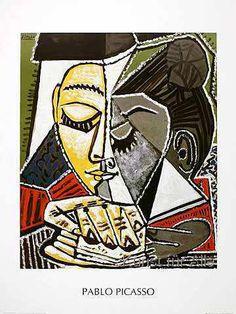 Pablo Picasso - Tete d'une femme lisant