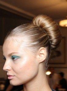 Cool Bun Ordinary  Bun Ordinary Hairstyles For School Girls