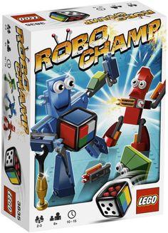 Nowe LEGO Games - ROBO CHAMP- 3835