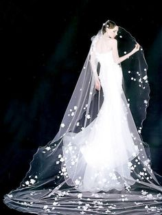 Light, Ethereal Wedding Dresses by Kelly , via Behance