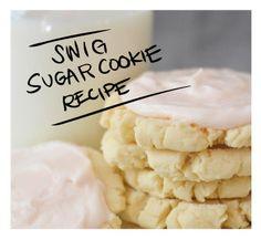 Knockoff Swig Sugar Cookie Recipe (LITERALLY The Best Cookie Known To Man!!) - Vintage Revivals