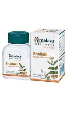 New Shallaki Tablets | Himalaya Pure Herbs | Boswellia Serrata | 100% Vegetarian