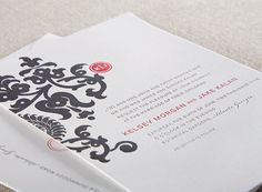letterpress wedding invitations by Alee & Press: kelsey