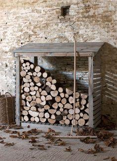 Armoire à bois d'extérieur | Garden Trading | #basileek #rangement #bois