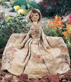 For the Love of Dolls, The Mildred Seeley Collection: 34 English Wooden Doll Known as