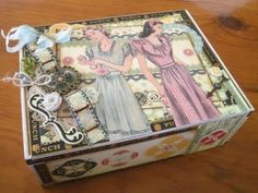 Two Crazy Crafters: Altered Cigar Box
