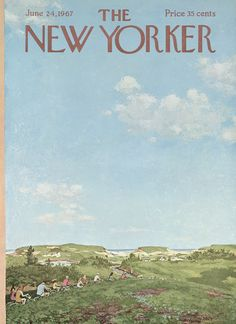 The New Yorker - Saturday, June 24, 1967 - Issue # 2210 - Vol. 43 - N° 18 - Cover by : Albert Hubbell