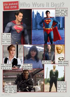 Who Wore It Best Superman