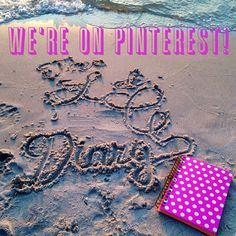 We're On Pinterest! Bringing you glamour and fun on Instagram, Pinterest & Wordpress!