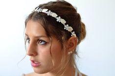 Wedding Hairstyles with a grecian silk ribbon